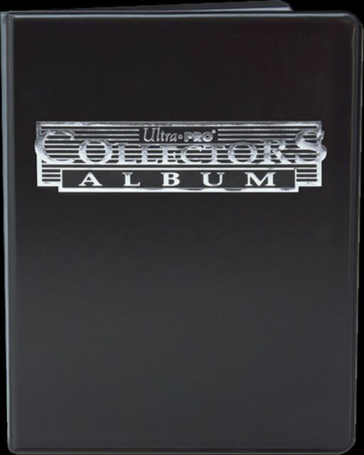 Album 4 tasche Ultra PRO Magic Collectors BLACK Nero Raccoglitore Portfolio MTG