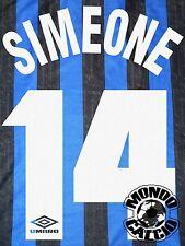 SIMEONE KIT INTER NAME SET HOME PERSONALIZZAZIONE  FLOCK 1997-98