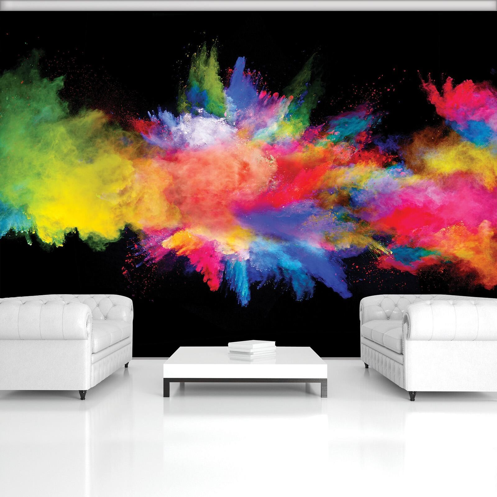 Photo Wallpaper Mural Non-woven 0061770D13 Multicolour Powder Explosion