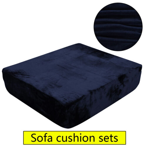 Sofa Cushion Cover Decoration Elastic Couch Seat Soft Loveseat Furniture
