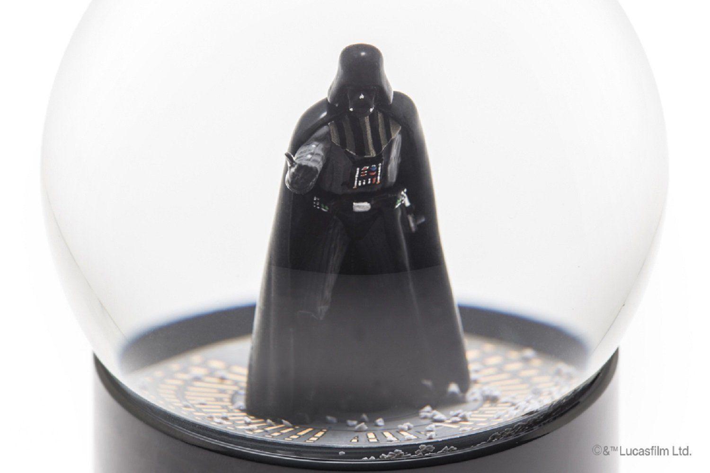 Nuevas GALAXIAS Altavoz Inalámbrico Domo Bola de Nieve Darth Vader Figura Japón con licencia