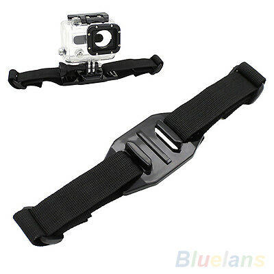 Vented Helmet Strap Band Mount Adapter For Camera Gopro HD Hero 2 3 Accessories
