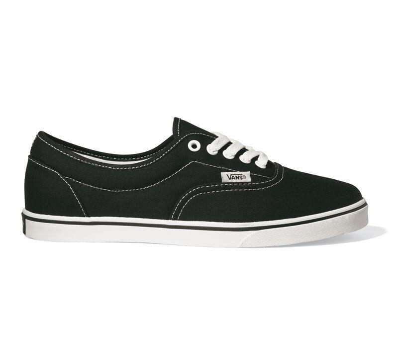 VANS - LPE - Schwarz Weiß Canvas - Canvas Weiß Skate Schuhe - NEU - JK6Y28 - Gr.: 39 - 48 5f6a95