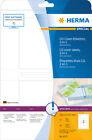 Herma 4373 CD Cover Etiketten A4 121 5x117 5mm Papier matt weiß