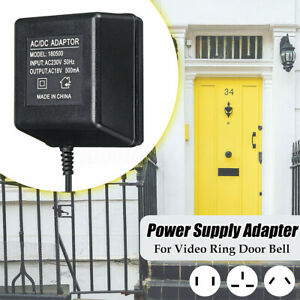 Cord Power Supply Adapter Transformer for Ring Video Doorbell 1//2//2 Pro US Plug