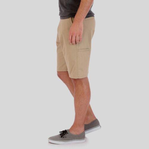 Mens B/&T Wrangler Flat Front Shorts Relaxed Fit KhaKi 4-Way Flex 44  48