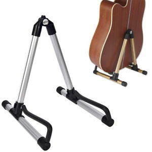 Guitar-Bass-Stand-Holder-Foldable-Acoustic-Electric-Guitar-Bass-Stand-HoldLS-YK