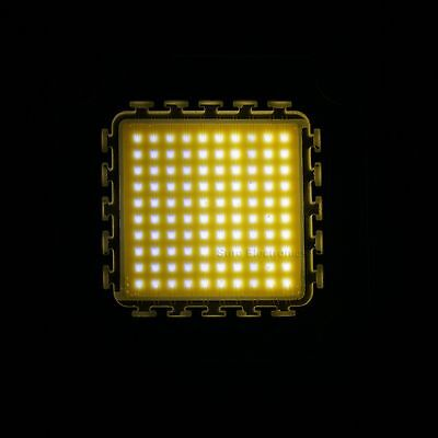 100W Warm White High Power LED Light SMD chip Panel 9000-10000LM No reserve pric