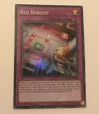 Yugioh Red Reboot FLOD-EN068 Super Rare 1st Edition