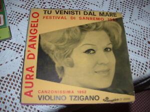 "AURA D'ANGELO SANREMO'63 "" TU VENISTI DAL MARE "" ITALY'63 - Italia - AURA D'ANGELO SANREMO'63 "" TU VENISTI DAL MARE "" ITALY'63 - Italia"