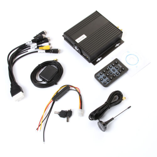 4Ch Channel H.264 Car Mobile DVR Kit Digital Video Recorder 3G Support GPS Wifi