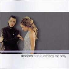 Don't Call Me Baby Madison Avenue Audio CD