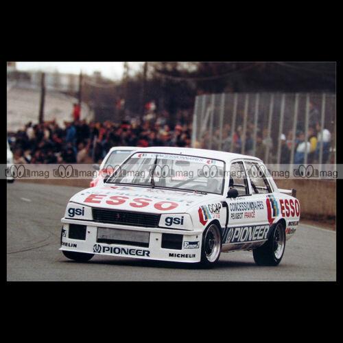 #pha.027572 Photo JEAN-PIERRE BELTOISE PEUGEOT 505 TURBO PRODUCTION 1984 Car