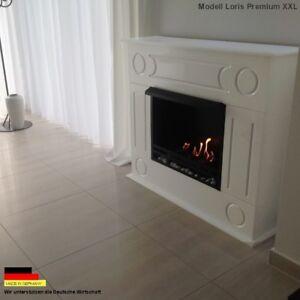 Ambitieux Bio Gelkamin éthanol Cheminée Cheminée Fireplace Cheminee Loris Xxl Premium Royal Blanc-afficher Le Titre D'origine