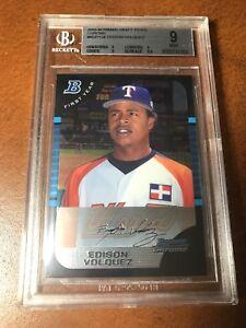 2005 Edison Volquez Bowman rookie gem mint 9 #BDP134