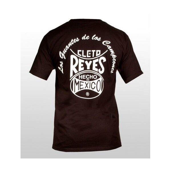 CLETO REYES scatolaE NERO T-shirt con logo Casual tuttienamento scatolae Tee T-Shirt