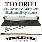 TFO Drift 3wt Switch Convertible Fly Rod Trout Spey Nymph Single Hand