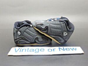 cc5349ef35ee Nike Air Jordan XIV 14 Graphite Georgetown Hoyas Crib Infant Retro ...