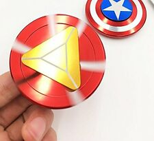 EDC Super Hero Iron Man Fidget Hand Spinner Ceramic Bearing Toys Anxiety Gyro