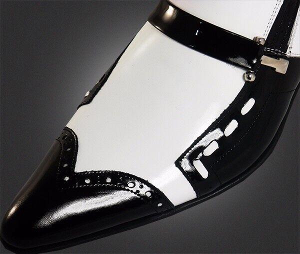 O.G Chelsy Designer -  Top Ausgefallene Italienische Designer Chelsy Slipper weiß/schwarz 41 8a7dfd