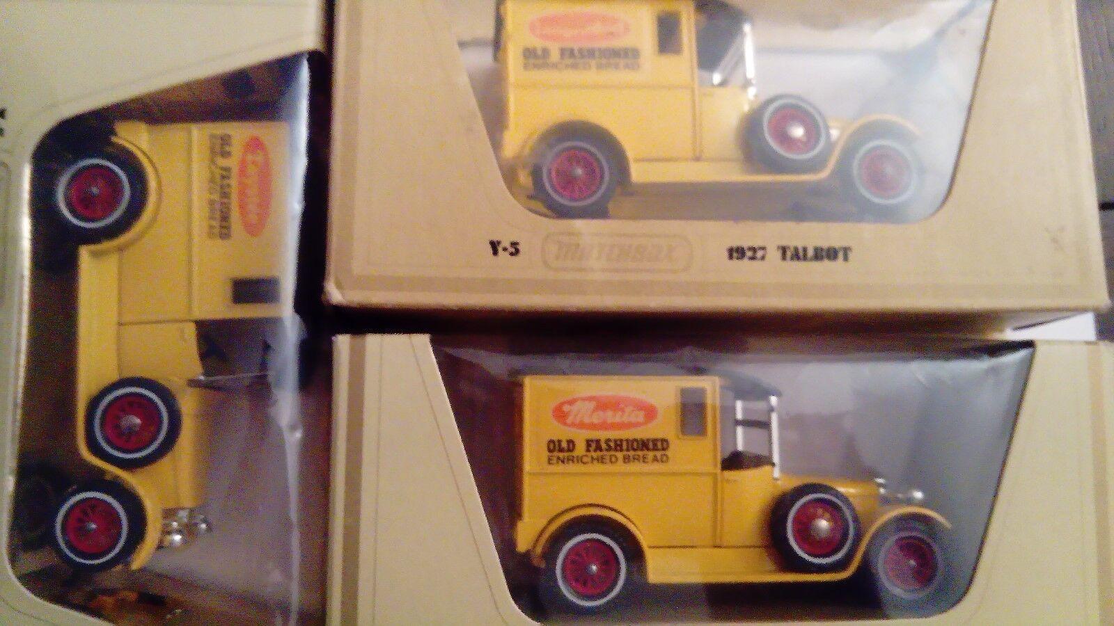 Very RARE, yy-05 Talbot Bread Set-Merita B. - Langendorf B. MOY, code 2, w. box