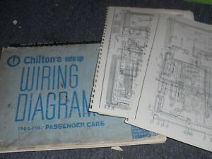 1962 1967 Volkswagen Vw Beetle Bug Vanagon Bus Wiring Diagrams Manual Sheets S Ebay