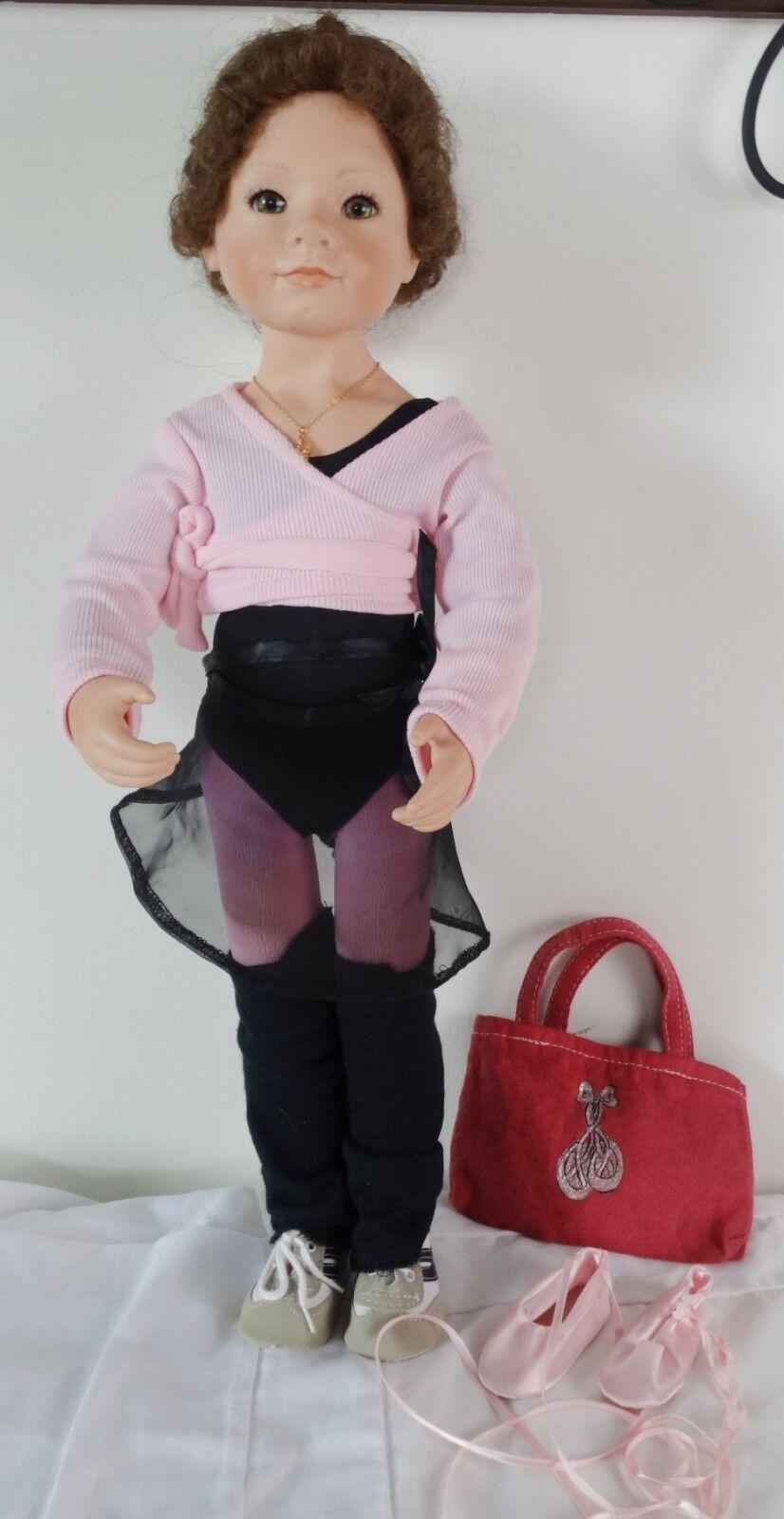 1994 Julie Good-Kruger Vinyl Puppe Ballett Klasse Ballerina 21