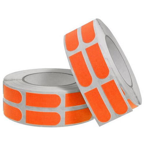 Turbo Grips Strips 3 4  orange Insert Tape 500 pc Bulk Roll