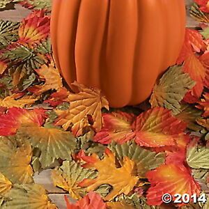 500 FALL LEAVES LEAF SHAPES Fall Thanksgiving Autumn Country Crafts NEW