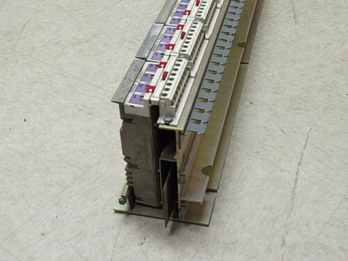 Gould Modicon 8 slot plc with B557 B551 INPUT CARDS