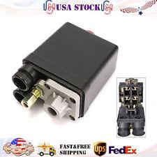 Heavy Duty Air Compressor Switch Control Pump Pressure Valve Solid 90 120psi Us