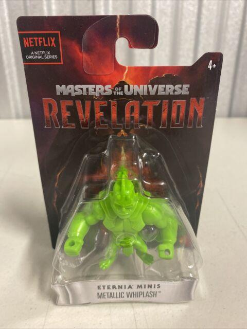 "Masters Of The Universe Eternia Mini's 2 1/2"" Figure Metallic Whiplash - Netflix"
