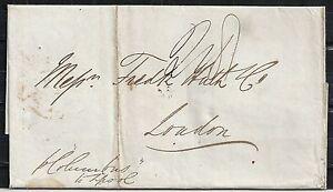 Mexico covers 1847 folded Shipcover Pernaubuca to London
