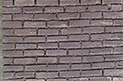 Dollhouse Miniatures Charcoal Colored Bricks in 1:12 Scale