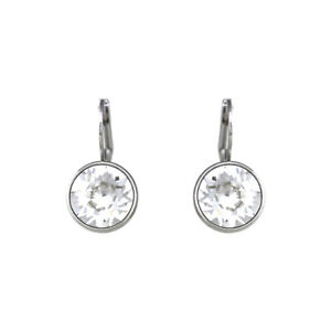 048cb9973 Baby Mini Bella Clear Crystal Earrings Made with SWAROVSKI® Crystals ...