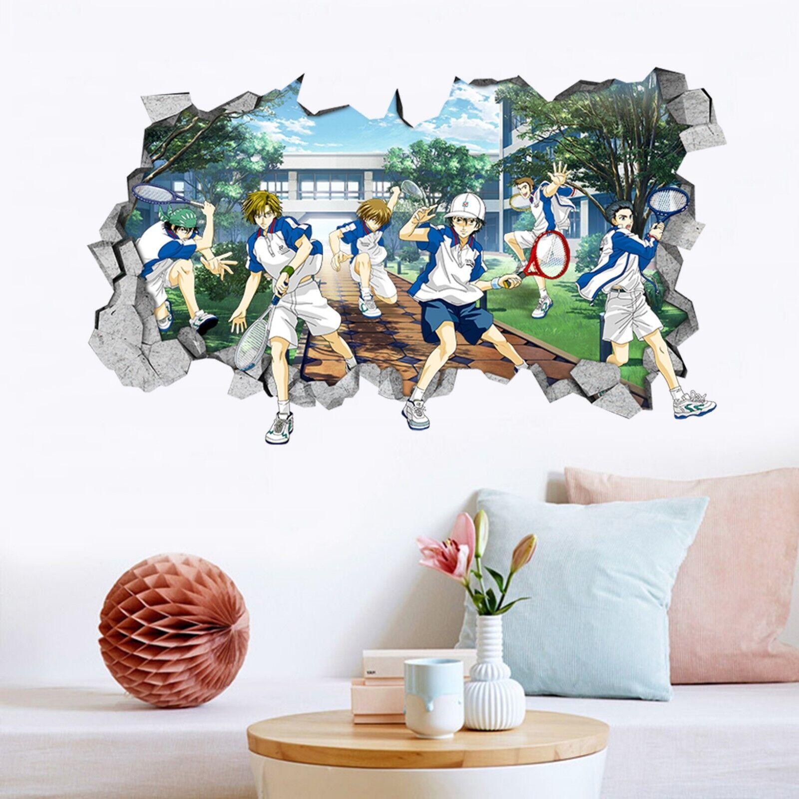 3D Tennis Jungen 20 Mauer Murals Mauer Aufklebe Decal Durchbruch AJ WALLPAPER DE