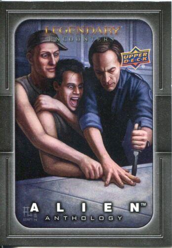 Alien Anthology Legendary Artwork Chase Card LA-3 Adam Brown