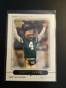 2005-Topps-237-BRETT-FAVRE-Green-Bay-Packers-50th-Anniv-HOF-Awesome-Card