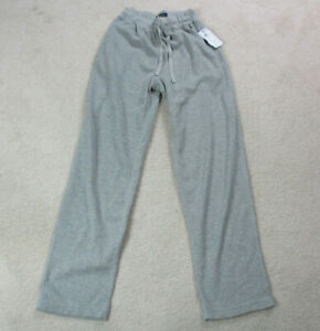 NEW-Ralph-Lauren-Polo-Sweat-Pants-Adult-Small-Gray-Black-Warm-Up-Lounge-Mens-90s
