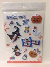 Kinder Surprise Halloween Theme Sticker Sheet Limited Edition China 2016 Rare