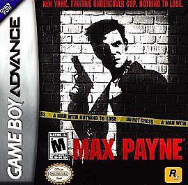 Max Payne Nintendo Game Boy Advance 2003 For Sale Online Ebay