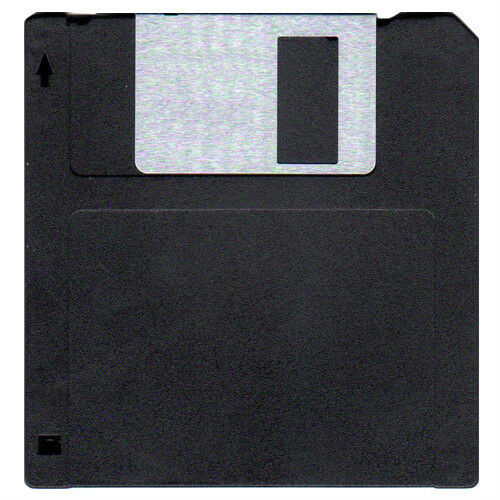 "50 Double Density DS//DD 3.5/"" 720K Recycled Floppy Disks"