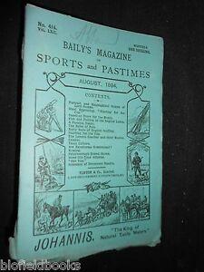 Baily-039-s-Magazine-of-Sports-amp-Pastimes-1894-Lake-Fishing-Sculling-Coaches-etc