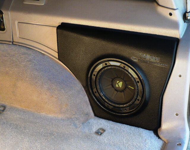 Select Increments XJ-Pod Speaker System 1984-01 Jeep Cherokee XJ's only 72625K