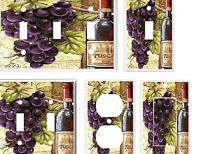 Wine And Grape Tuscan Light Switch Cover Plate K 13 U Pick Plate Size