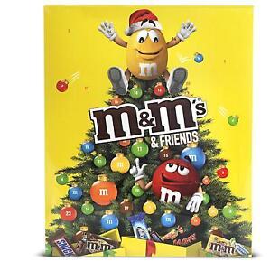 Calendario Avvento Cioccolato.Dettagli Su M M S Friends Calendario Dell Avvento Natale Cioccolatini Cioccolata Dolci