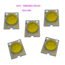 5pcs High Power Cob Led 36v 64w Led Chip Cool White 5000k For Signal Lamp Diy
