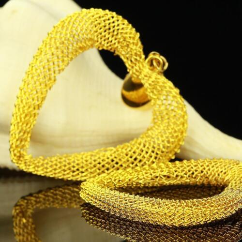 Ohrringe Herz Hänger 999er Gold 24 Karat vergoldet gelbgold Stecker O2774HL