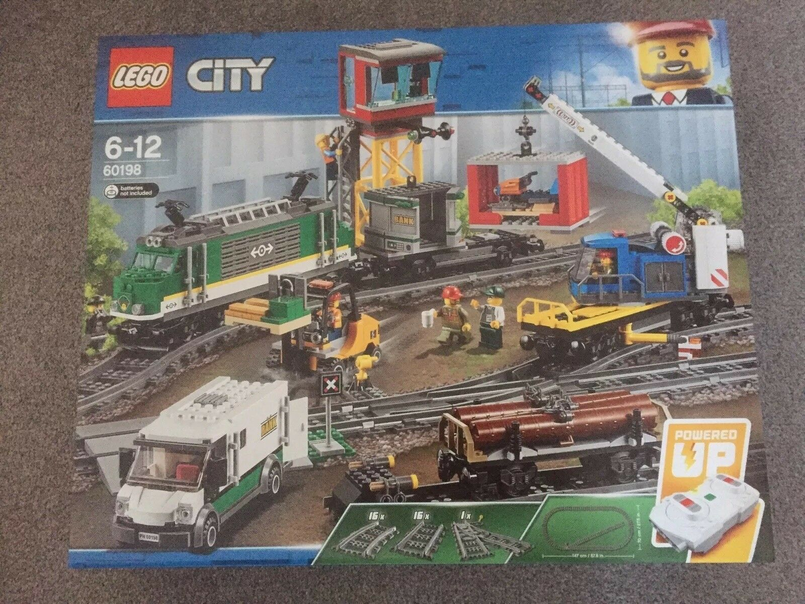 Lego City Cargo Train (60198) Brand New and Sealed