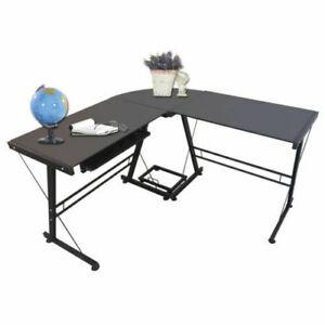Best Choice Products Sky2261 L Shape Corner Computer Desk